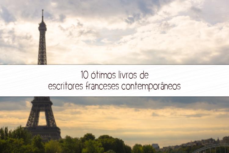 escritores franceses contemporâneos