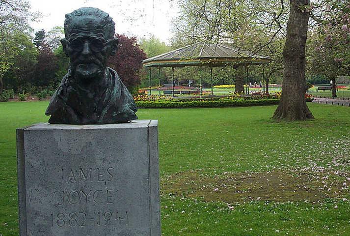 Busto de James Joyce
