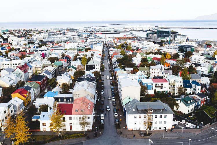 cidade de Reykjavík