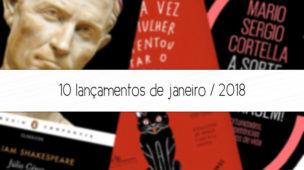 lançamentos de livros janeiro 2018